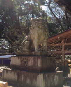 大宮八幡宮 狛犬