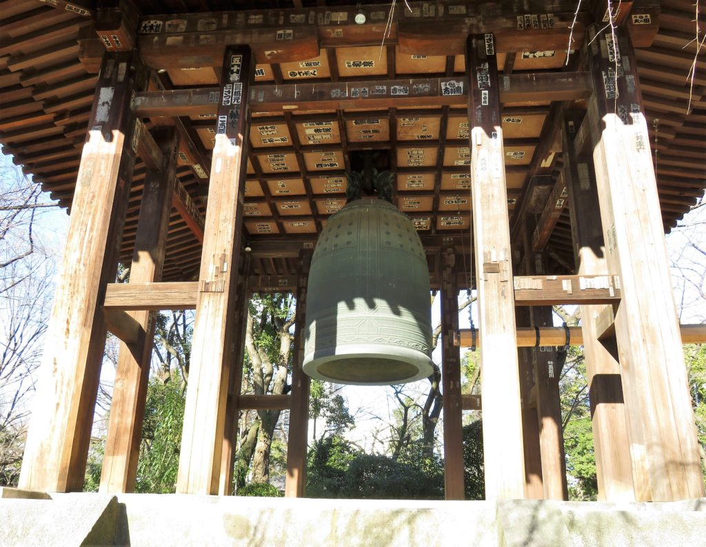 芝増上寺大梵鐘