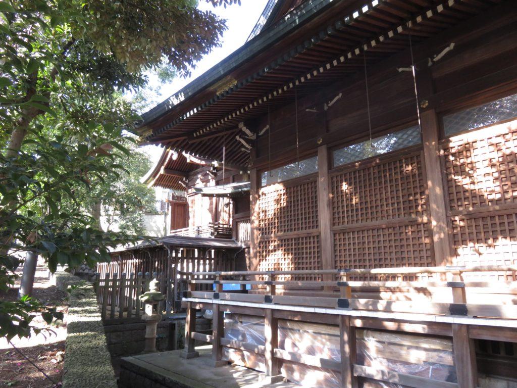 中目黒八幡神社本殿