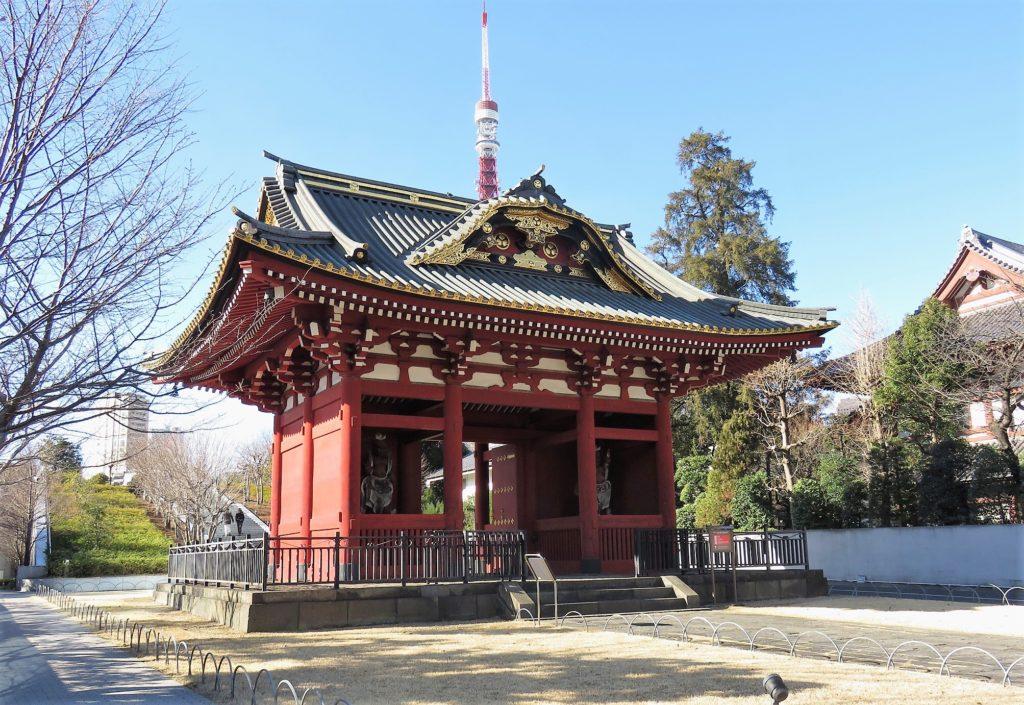 芝増上寺台徳院霊廟惣門