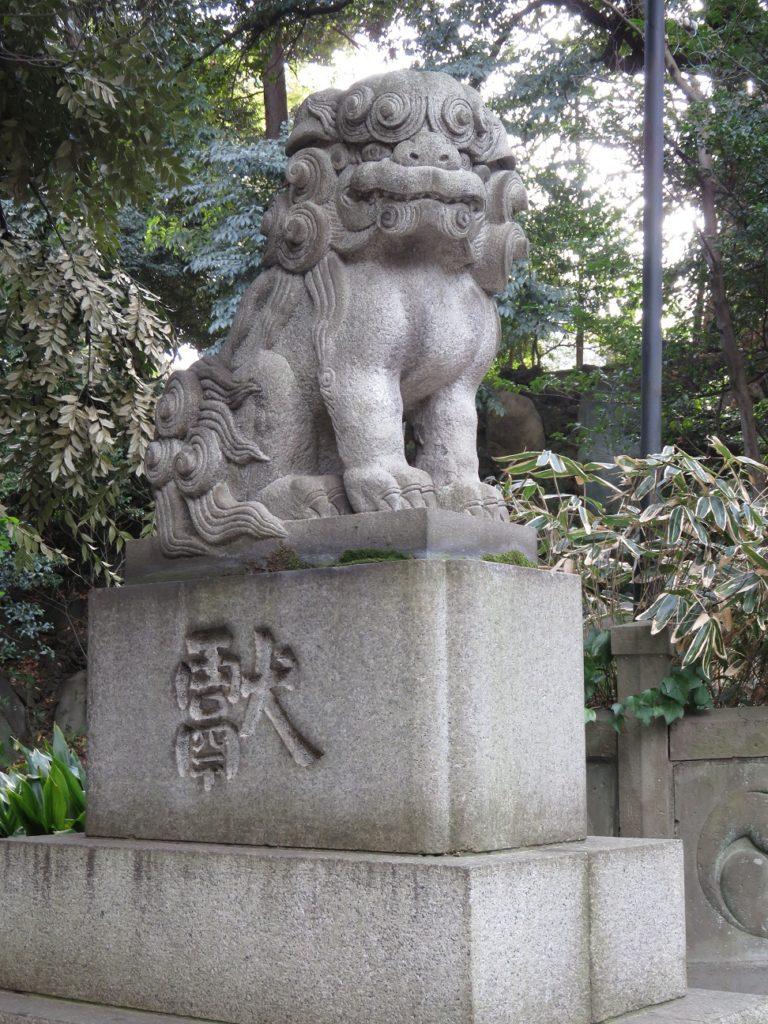 氷川神社狛犬2