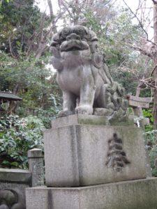 氷川神社狛犬1