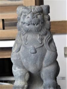小網神社狛犬1