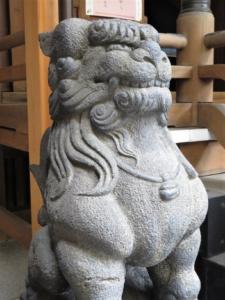 小網神社狛犬2