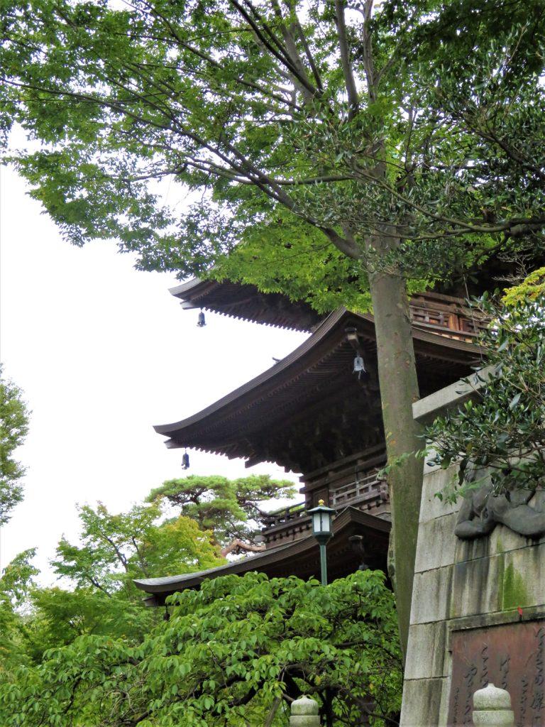 豪徳寺三重塔