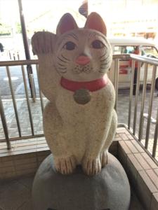 豪徳寺駅招き猫