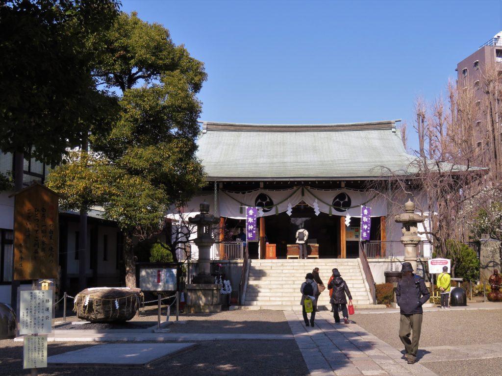 香取神社拝殿