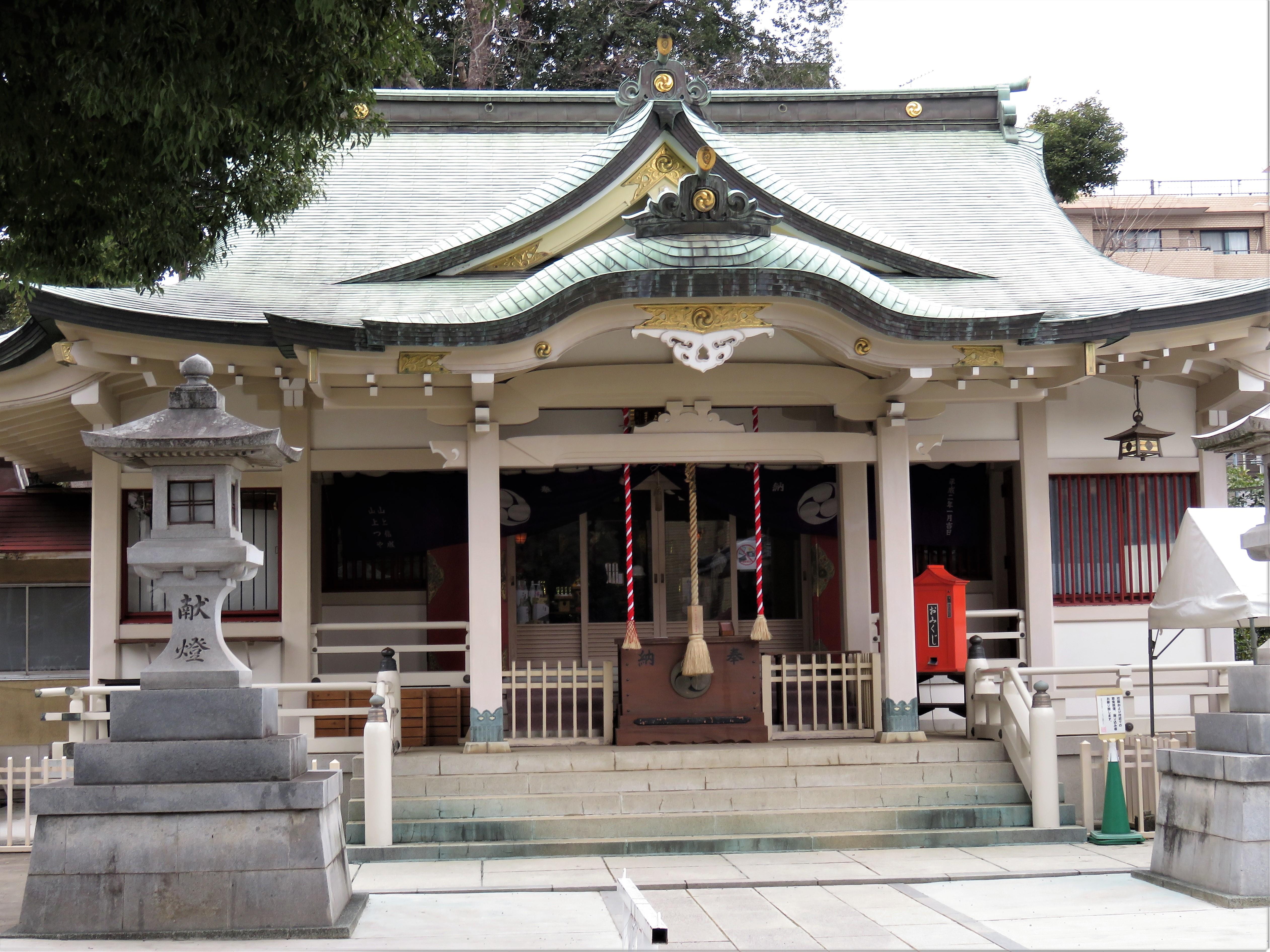 荻窪白山神社本殿