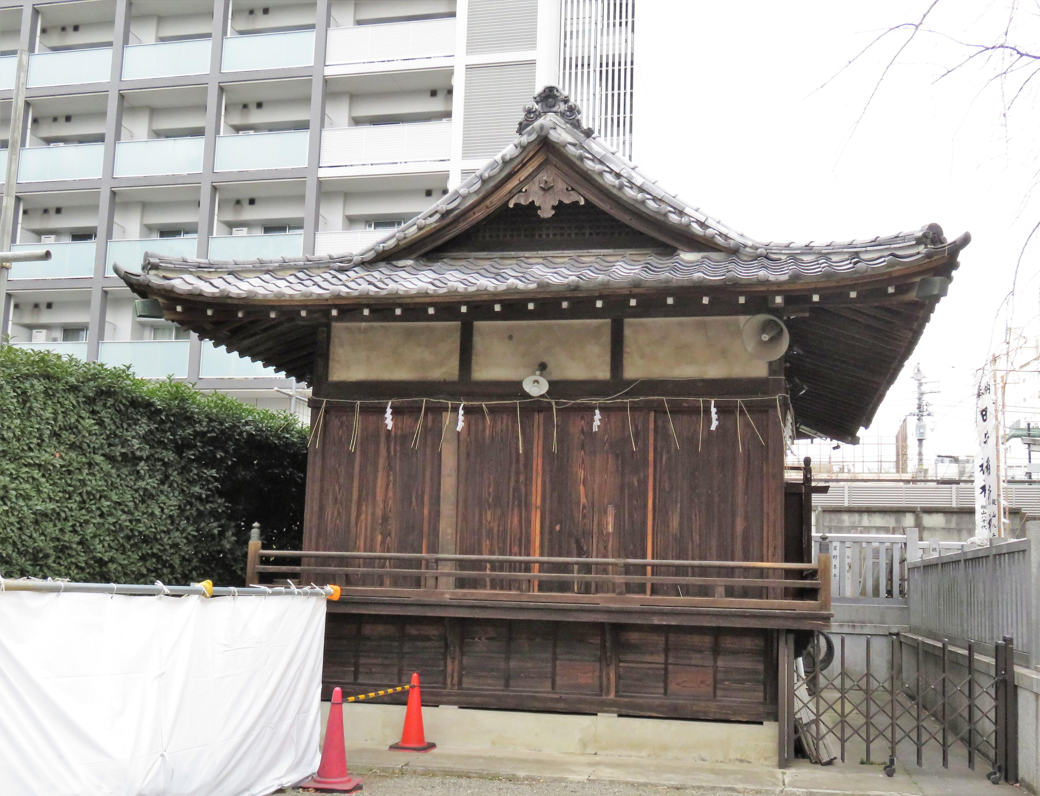 荻窪白山神社神楽殿