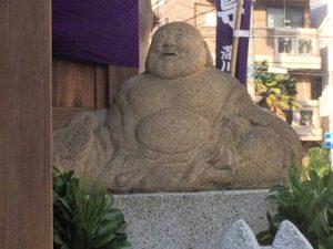 深川稲荷神社布袋尊