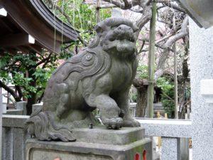 牛天神北野神社狛犬