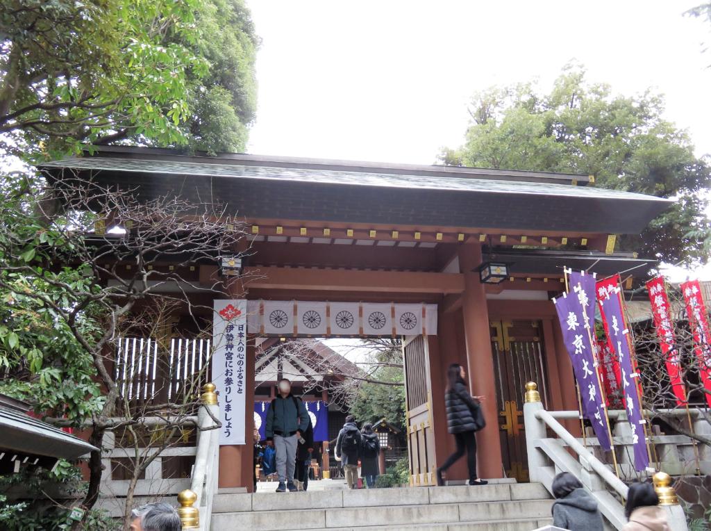 東京大神宮中門