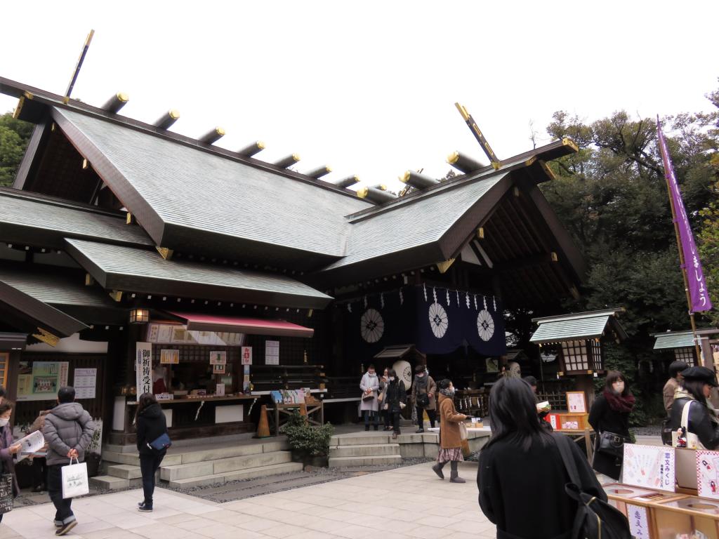 東京大神宮社殿