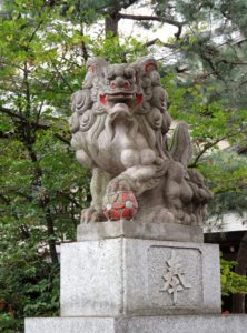 王子神社狛犬
