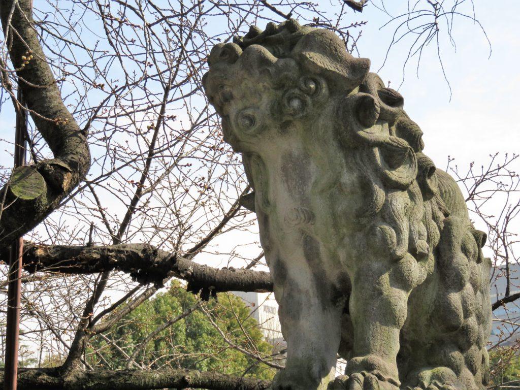 芝東照宮狛犬