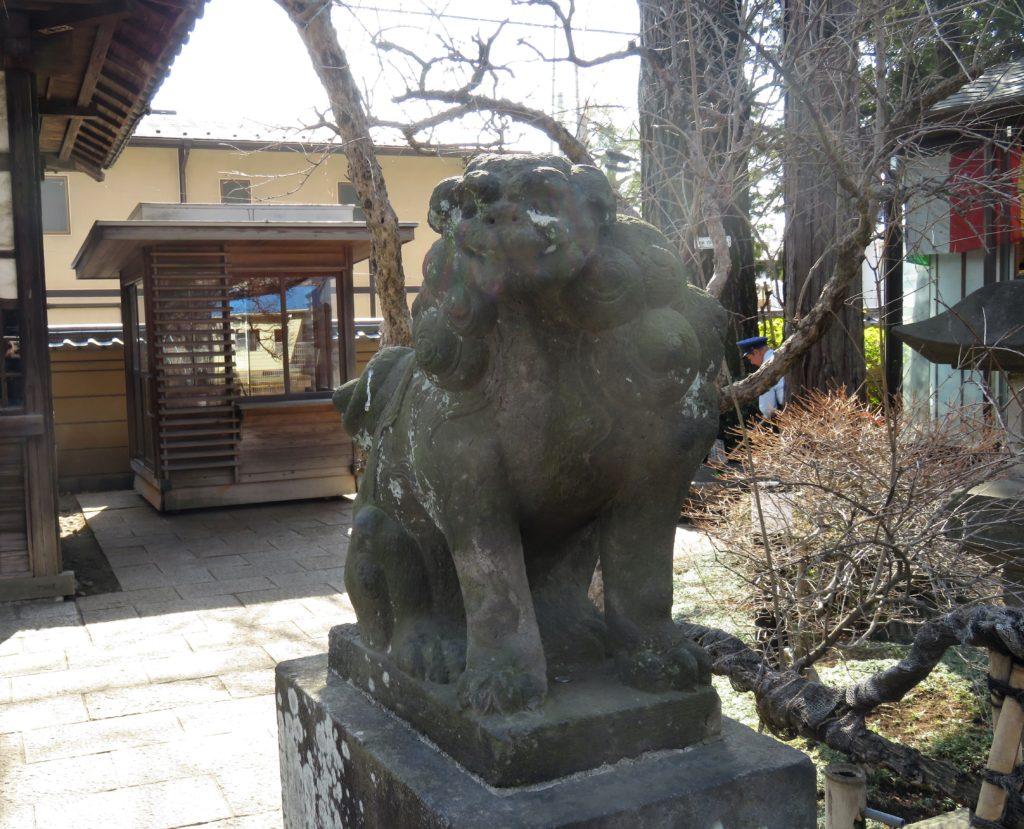 森巖寺狛犬