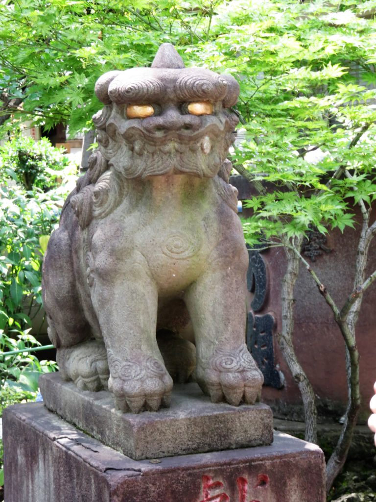 白山神社狛犬