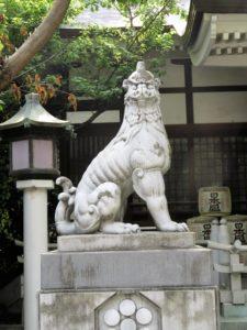 鳥越神社狛犬
