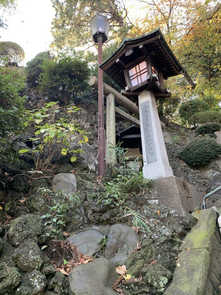 品川神社富士塚7