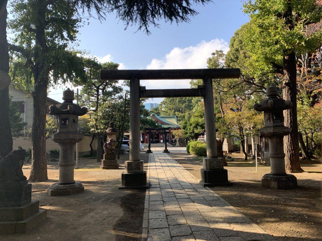 品川神社鳥居4