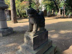 品川神社狛犬4