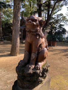 品川神社狛犬5