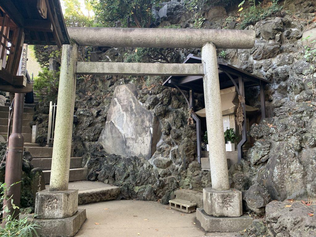 品川神社富士塚1