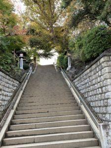 品川神社石段