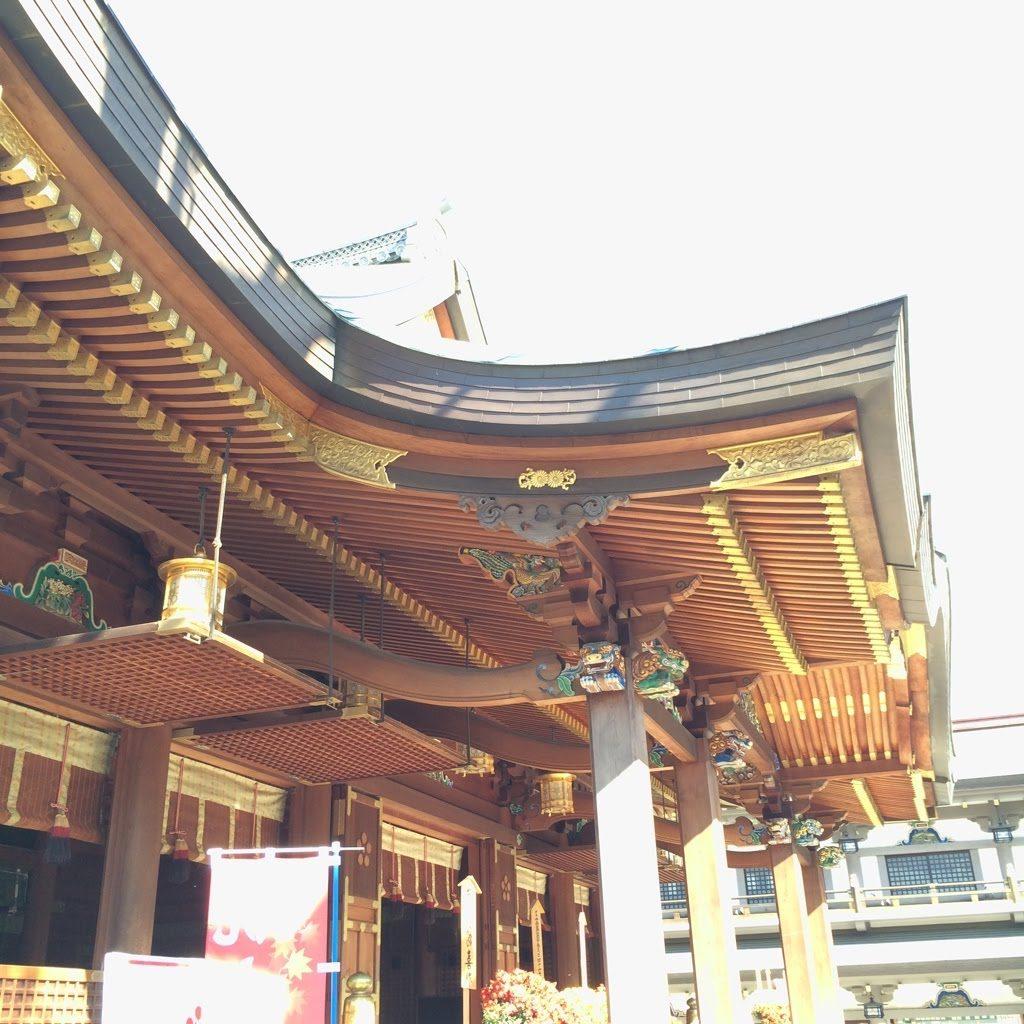 湯島天満宮社殿2