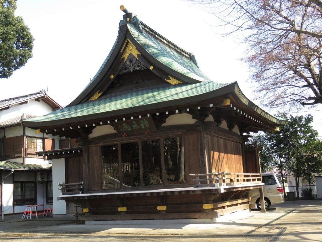 北沢八幡神社神楽殿