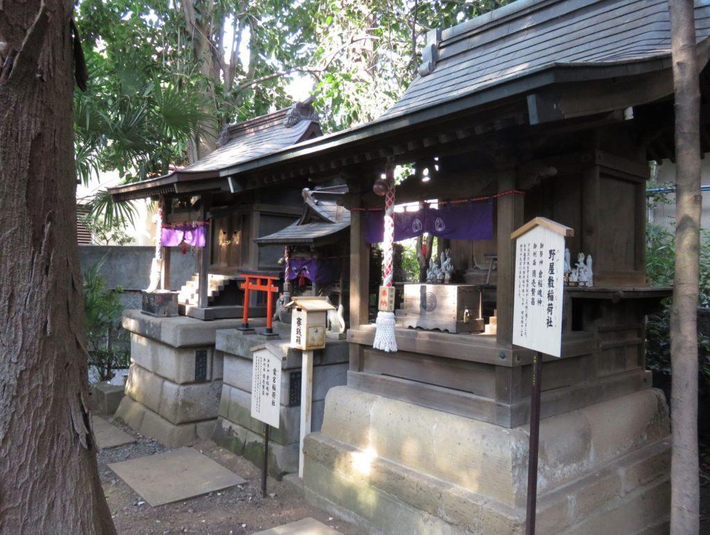 北沢八幡神社稲荷神社