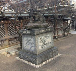 湯島天満宮狛犬