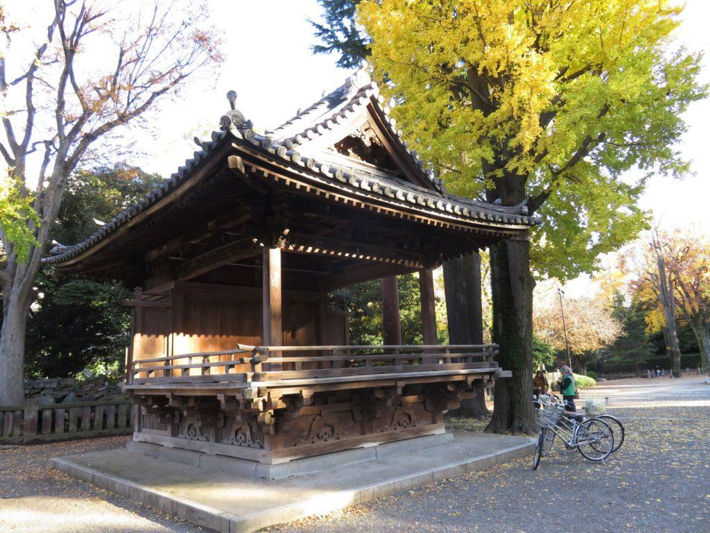 根津神社神楽殿