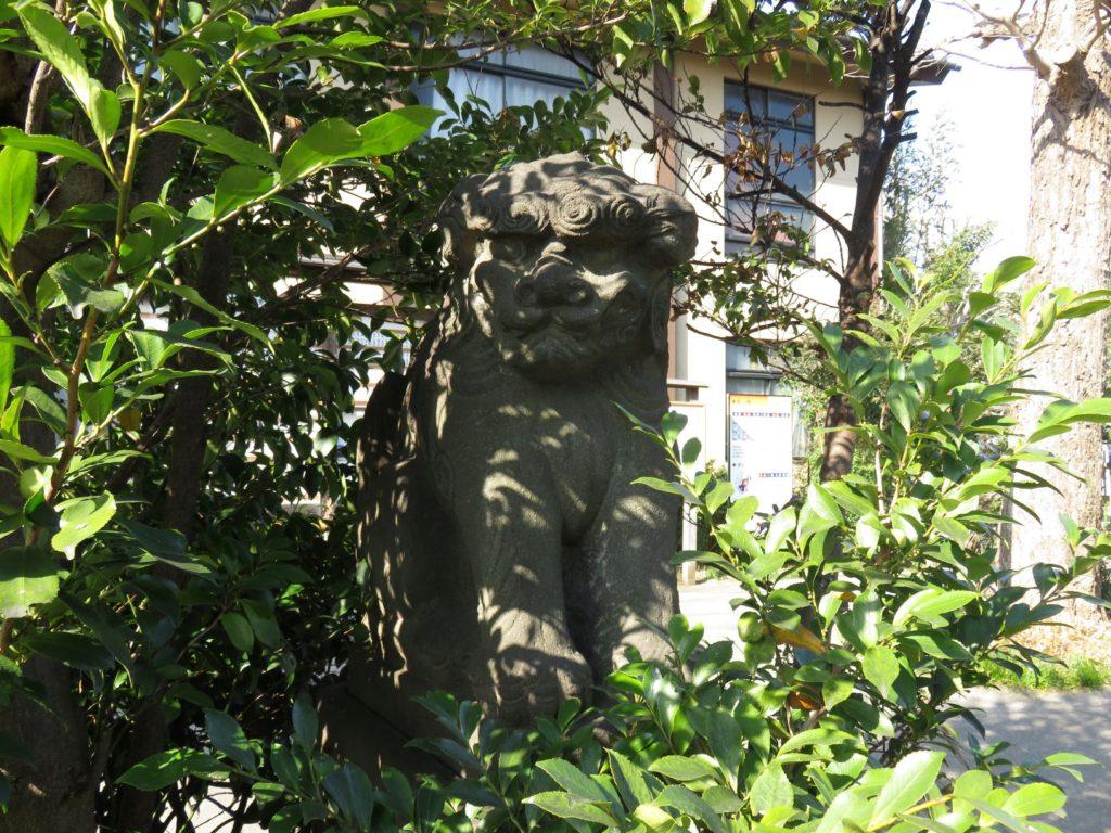 八幡神社狛犬4