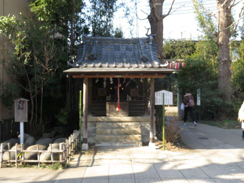 鷺ノ宮八幡神社境内社1