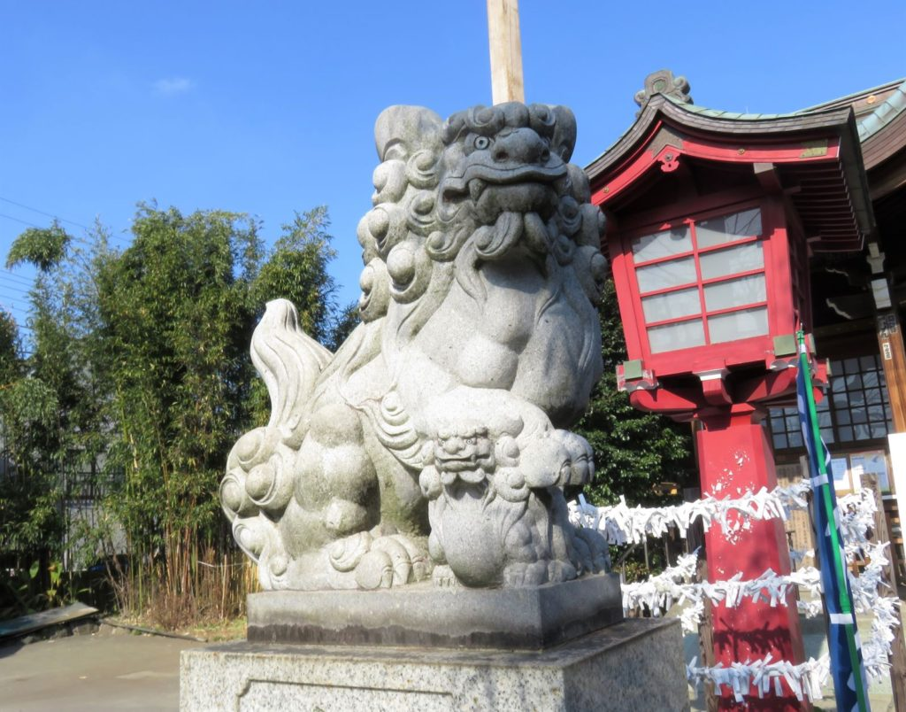 八幡神社狛犬5