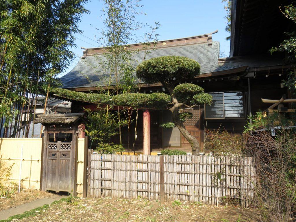 鷺ノ宮八幡神社幣殿