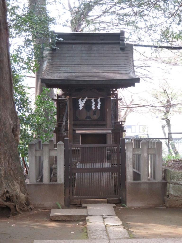 新宿諏訪神社御嶽神社