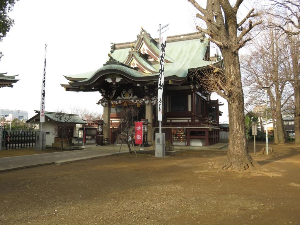 新宿諏訪神社本殿2