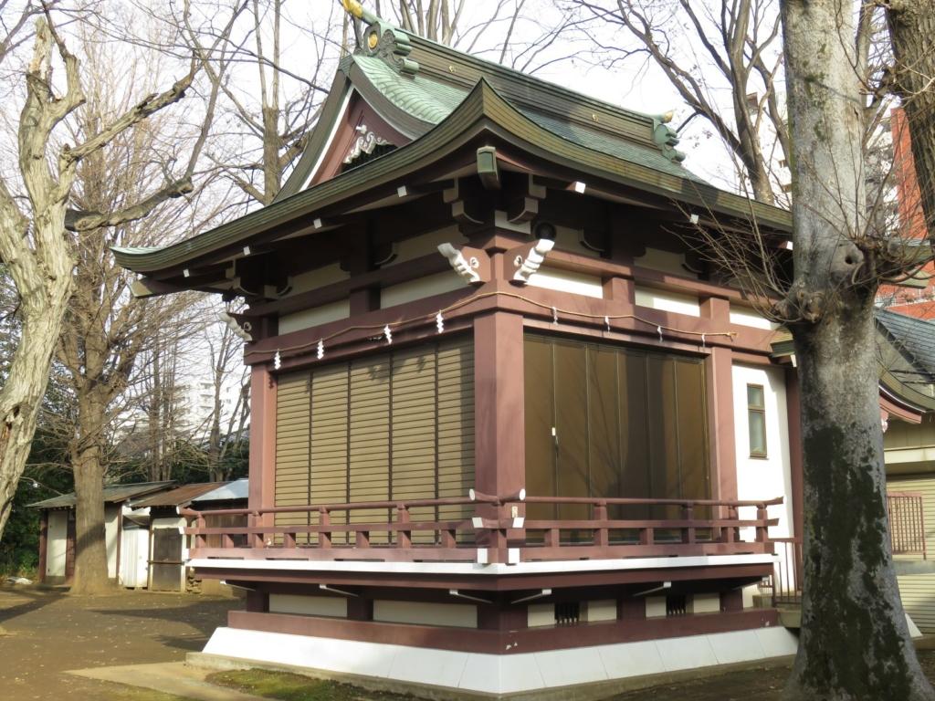 新宿諏訪神社神楽殿