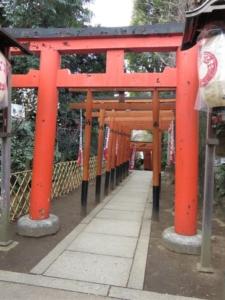 花園稲荷神社鳥居2