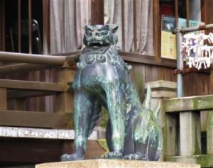五條天神社狛犬R