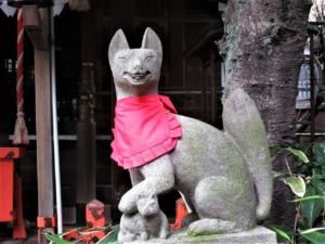 花園稲荷神社お狐様R
