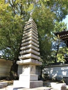 長命寺 (練馬区)石塔