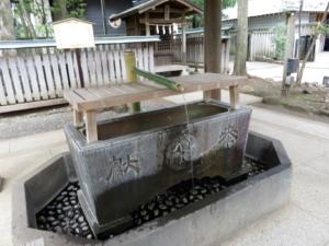 井草八幡神社手水舎2