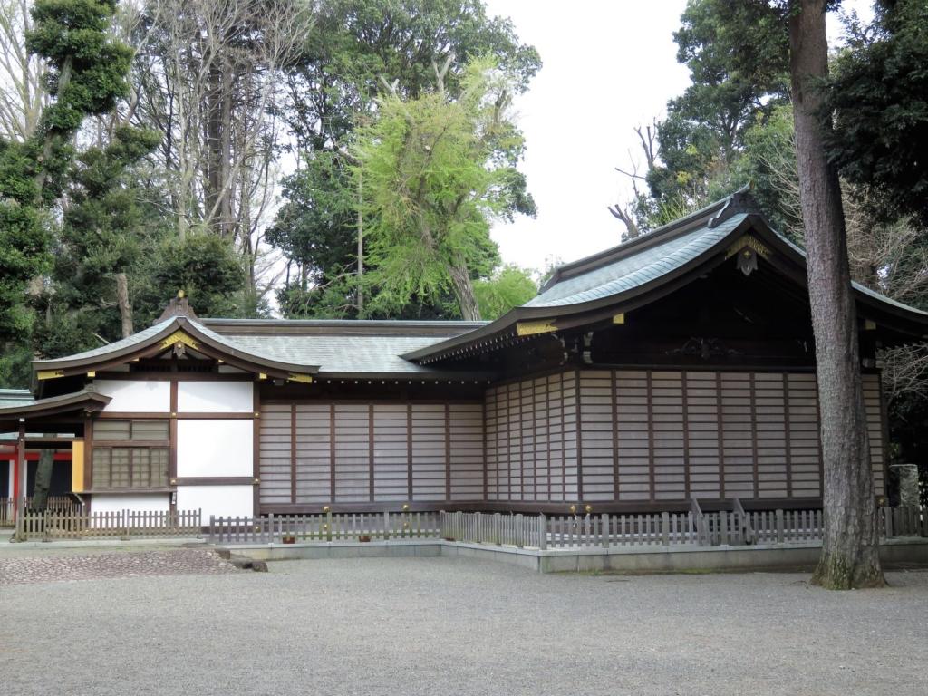 井草八幡神社神楽殿