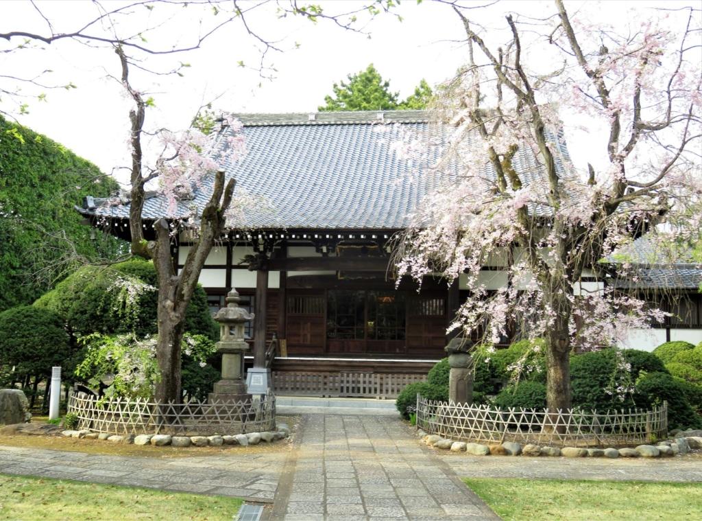 妙正寺本堂