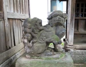 中村八幡神社狛犬6