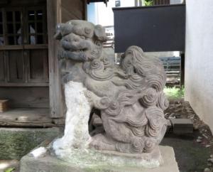 中村八幡神社狛犬5