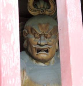 南蔵院鐘楼門吽像